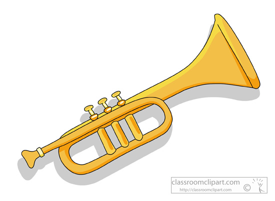 Trumpet clipart 2