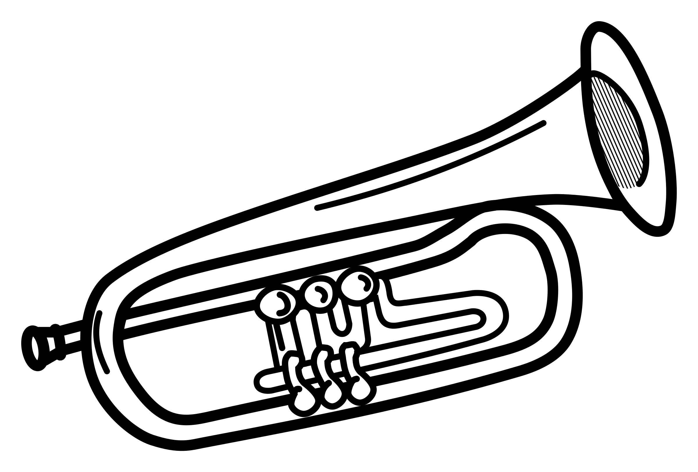 Trumpet clipart and others art inspiration 2 image