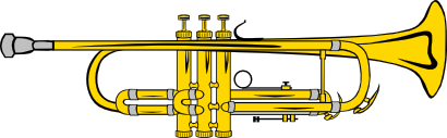 Trumpet free to use clip art