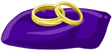 Wedding engagement clipart 3