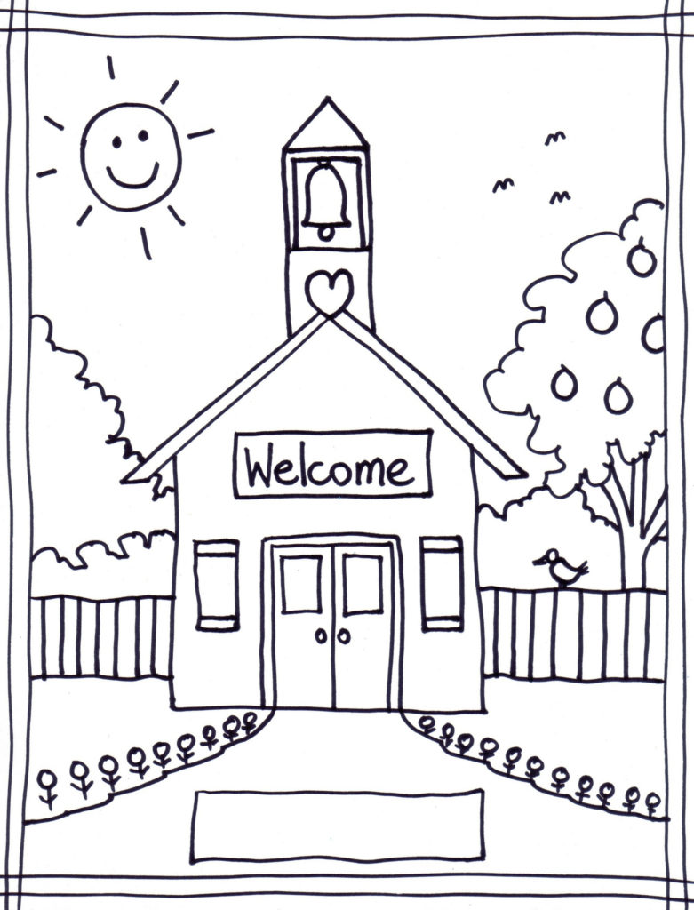 Welcome back to school schoolhouse clipart clipartfox