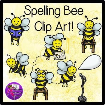 0 images about bijen clipart on spelling bee clip