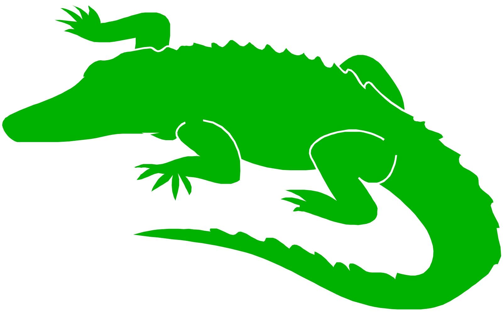 Alligator  black and white alligator clipart black and white free 4