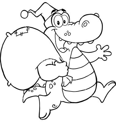 Alligator  black and white crocodile black and white clipart clipartfest