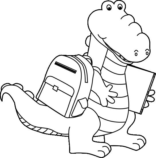 Alligator  black and white cute alligator clipart black and white clipartfest 2