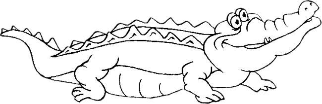 Alligator  black and white gator black and white clipart