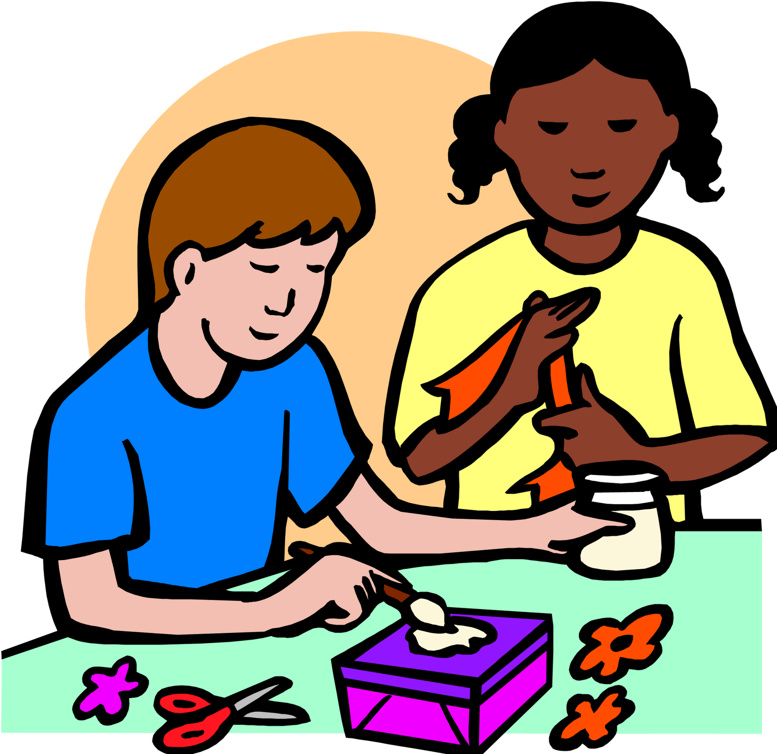 Arts and crafts clipart 3