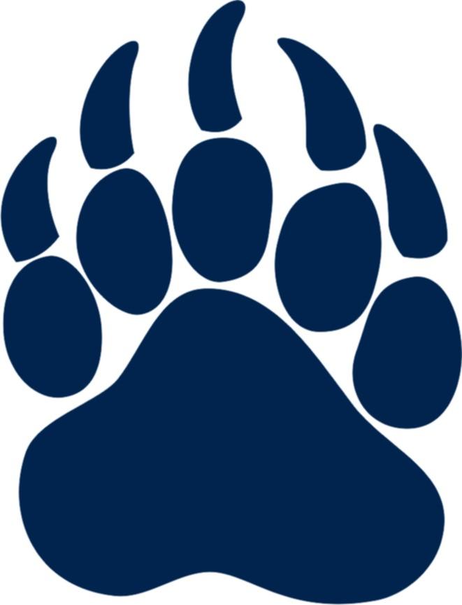 Bear paw clipart 2