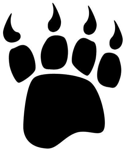 Bear paw clipart 4