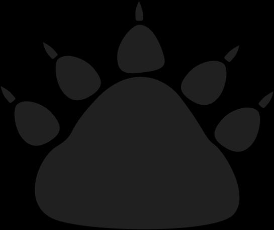 Bear paw clipart 5