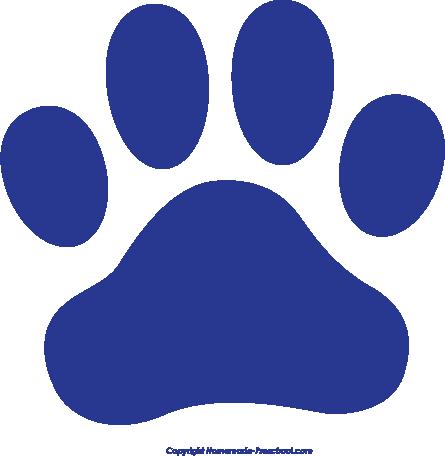 Bear paw free paw prints clipart 4