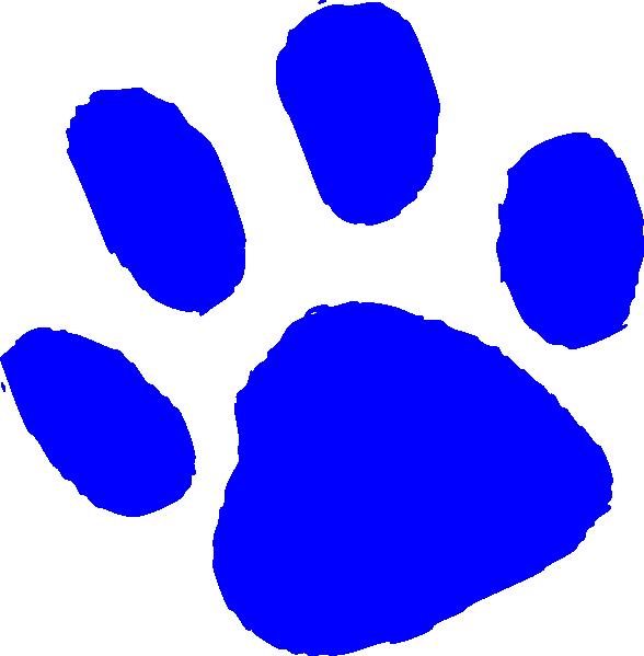 Bear paw small clip art at vector clip art