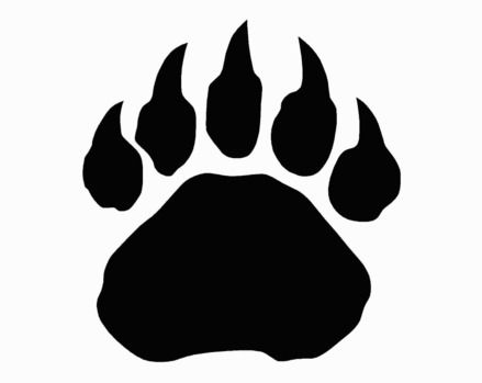 Bear paw wolverine paw print clip art clipartfox