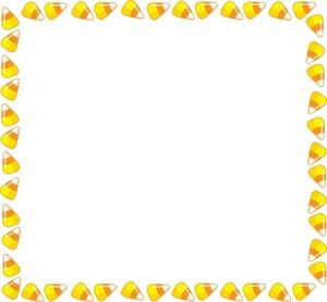 Candy corn border clipart clipartfest 3