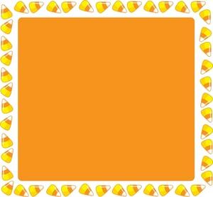 Candy corn border clipart clipartfest 4