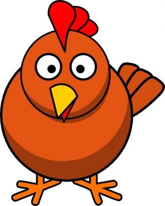 Chicken wing clip art 4