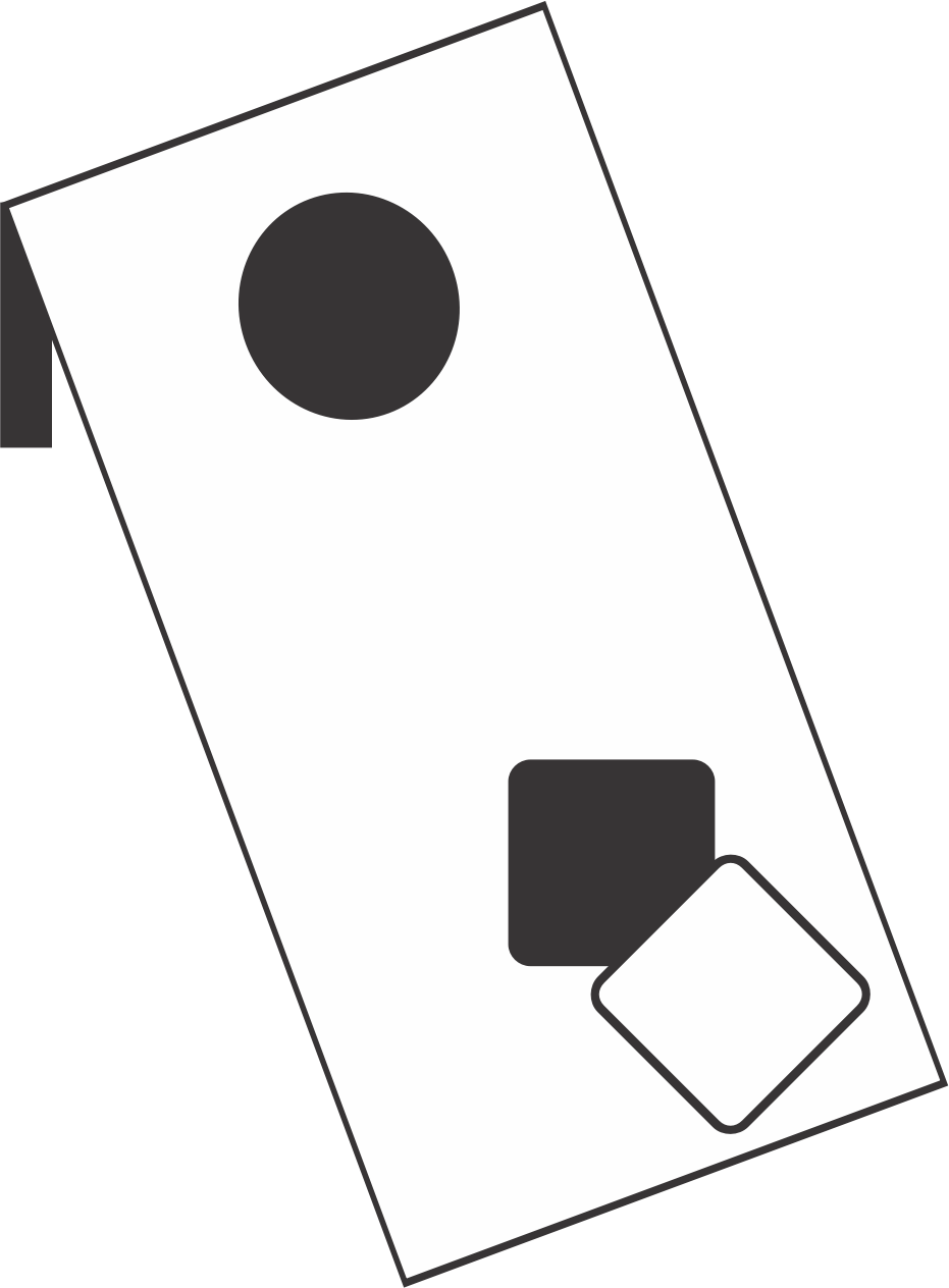 Cornhole clipart corn hole