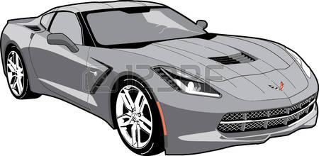 Corvette c7 clipart clipartfox