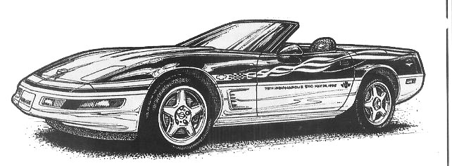 Corvette clipart 11