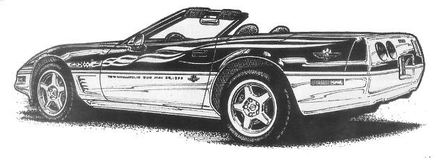 Corvette clipart 12