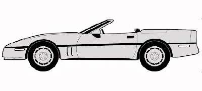 Corvette clipart 13
