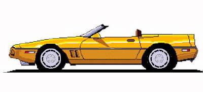 Corvette clipart 14