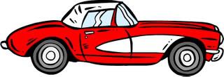 Corvette clipart 2 3