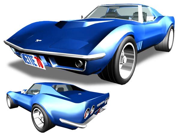Corvette clipart 7 2