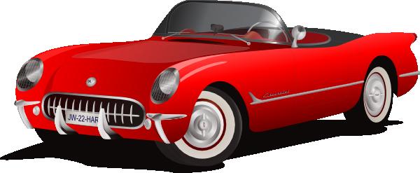 Corvette clipart 8