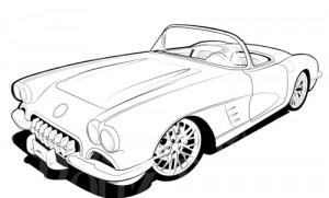 Corvette clipart free images 3
