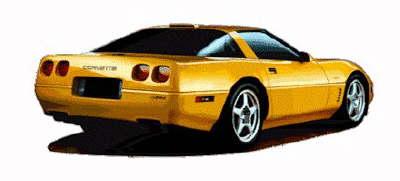 Corvette clipart free images 6