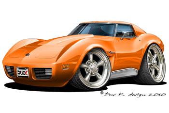 Corvette clipart free images 8