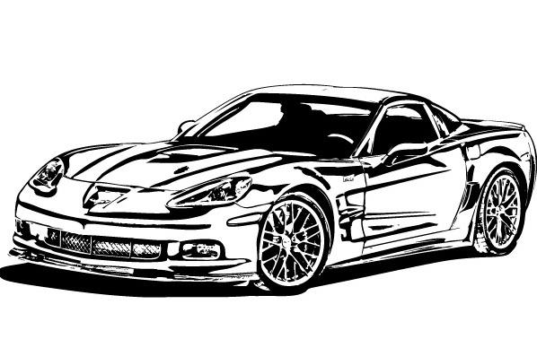 Corvette clipart free images