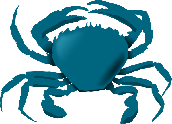Crab  black and white blue crab clipart black and white free 3