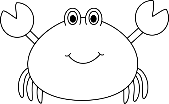 Crab  black and white crab black and white clipart 6