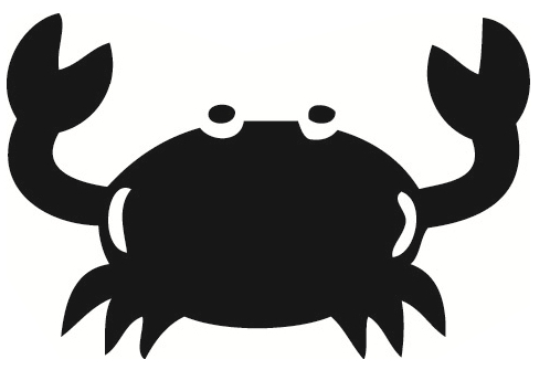 Crab  black and white crab clip art black and white free clipart images 2 wikiclipart