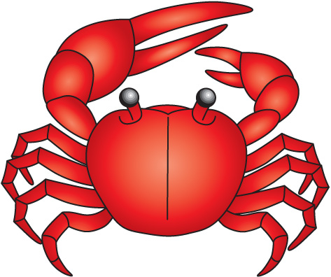 Crab  black and white crab clip art black and white free clipart images 6