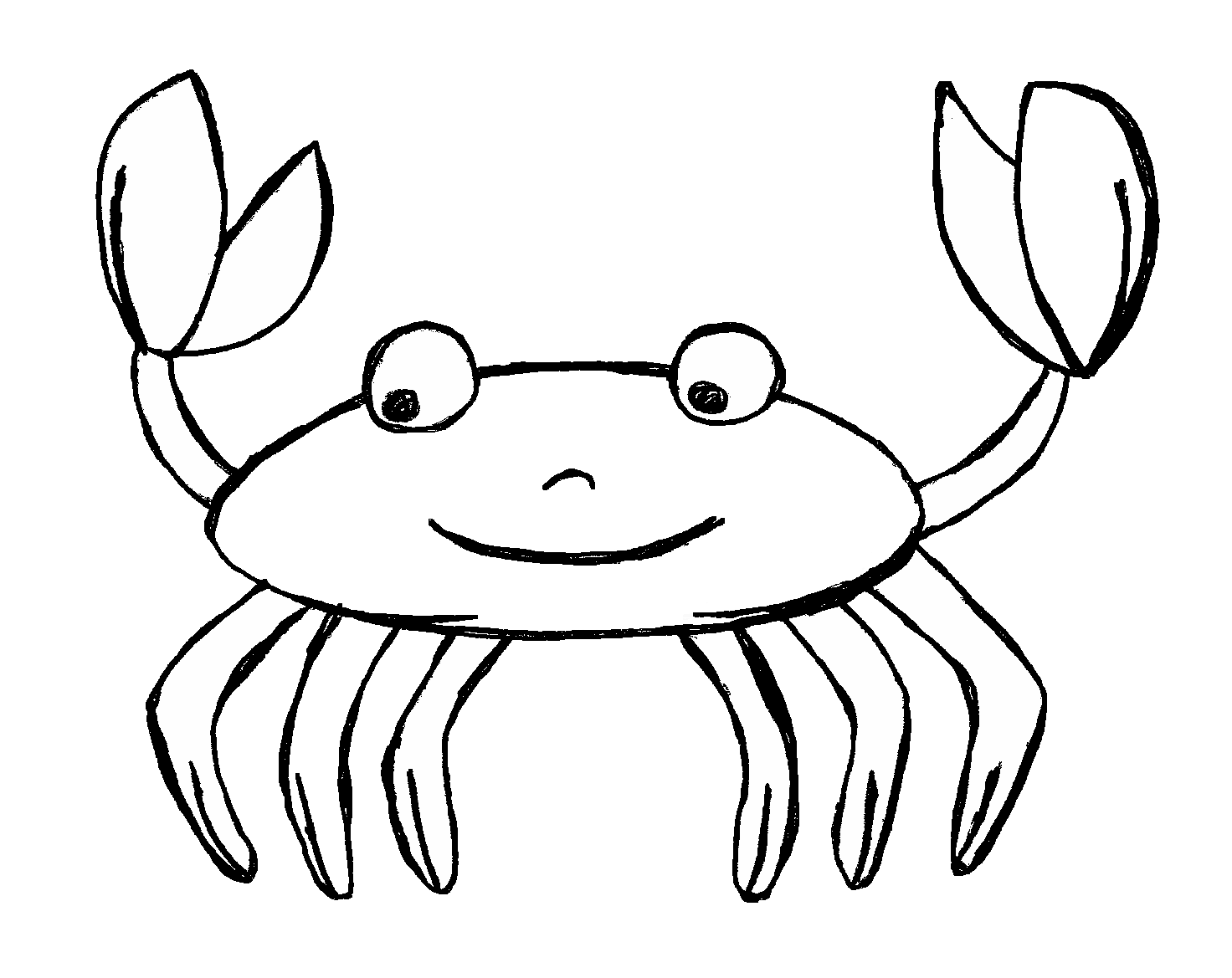 Crab  black and white crab clipart black and white free images 3