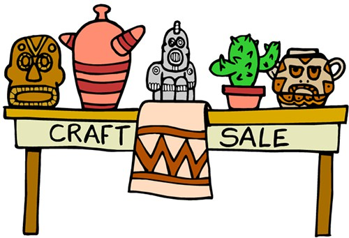 Craft fair clipart 3