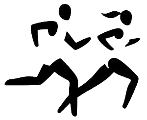 Cross country clipart 5