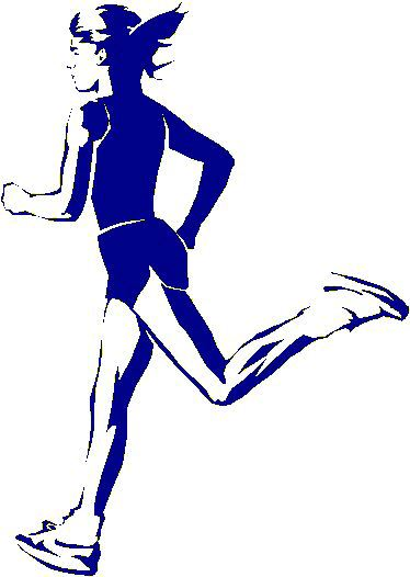 Cross country running clipart free images 7