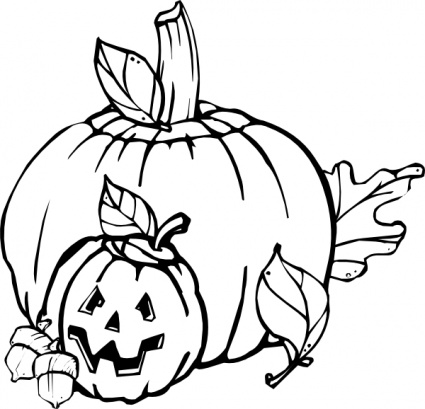 Fall  black and white fall black and white clipart 3