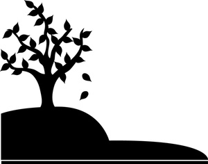 Fall  black and white fall leaf clipart black and white free