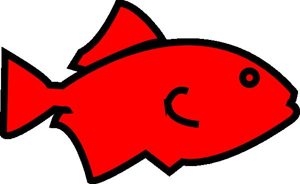 Fish outline clip art 7