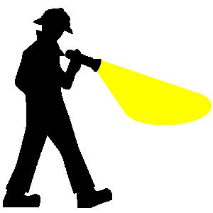 Flashlight clip art download