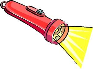Flashlight clipart clipart