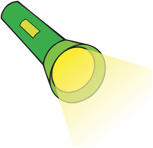 Flashlight clipart free images