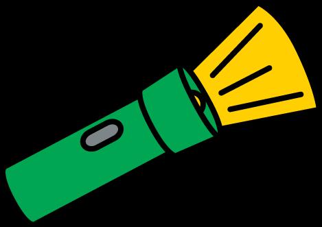 Flashlight clipart