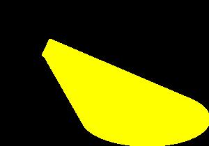 Flashlight light clip art at vector clip art free