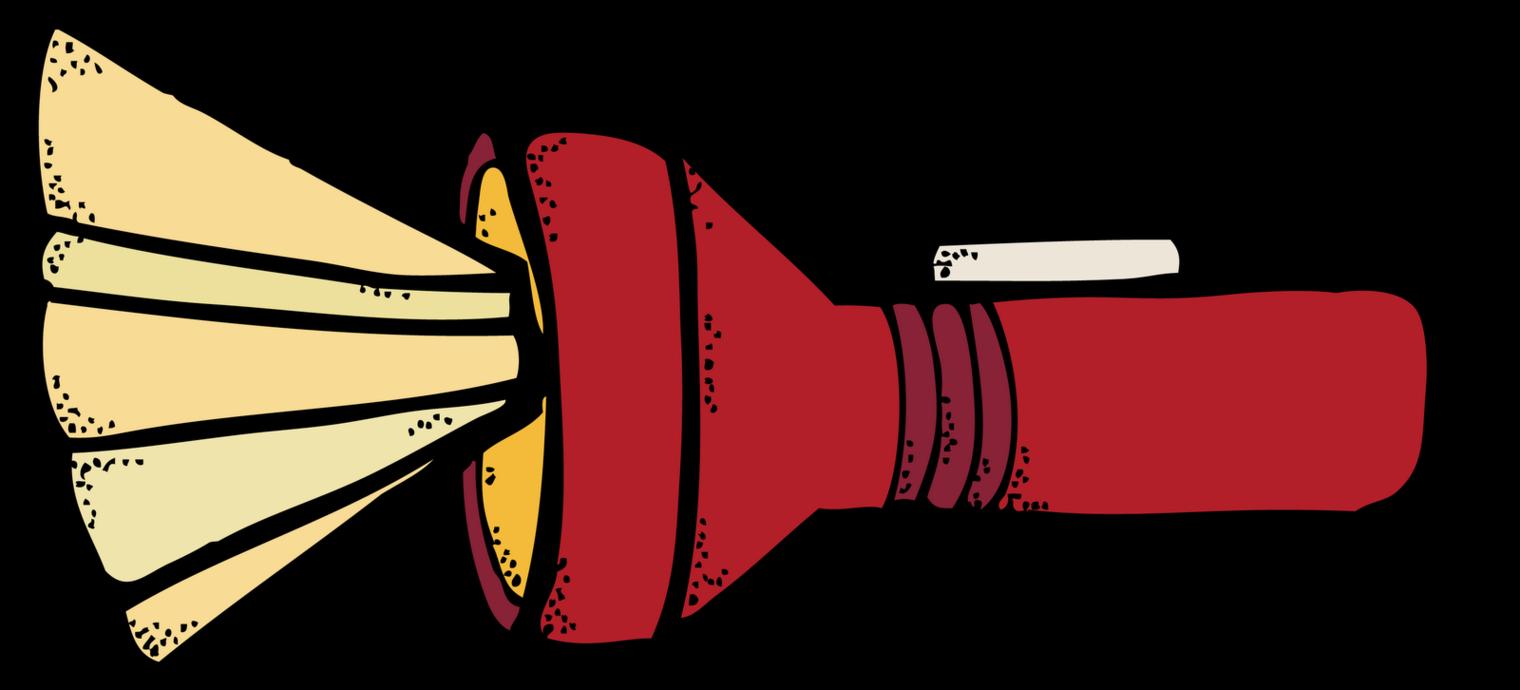 Flashlight melonheadz camp clip art clipart clipartfest